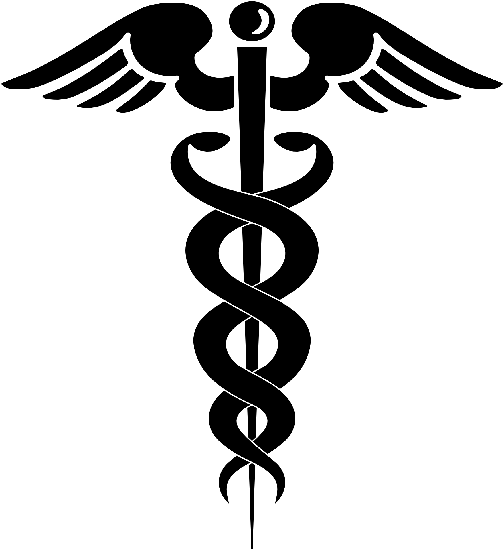 The caduceus not to. Medicine clipart medical condition