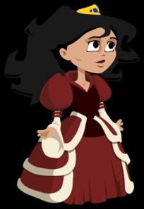 Princess . Medieval clipart