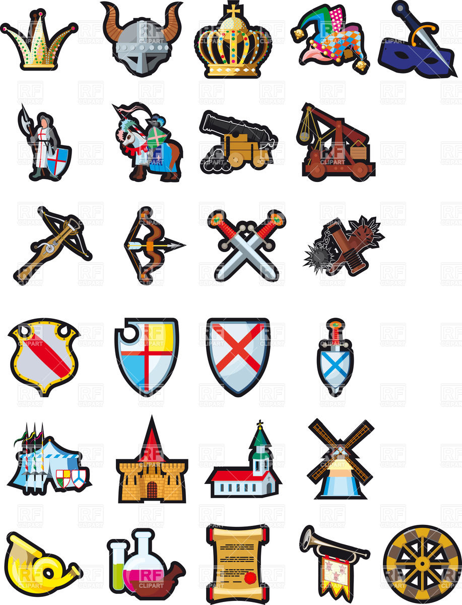Announcements clipart medieval. Free