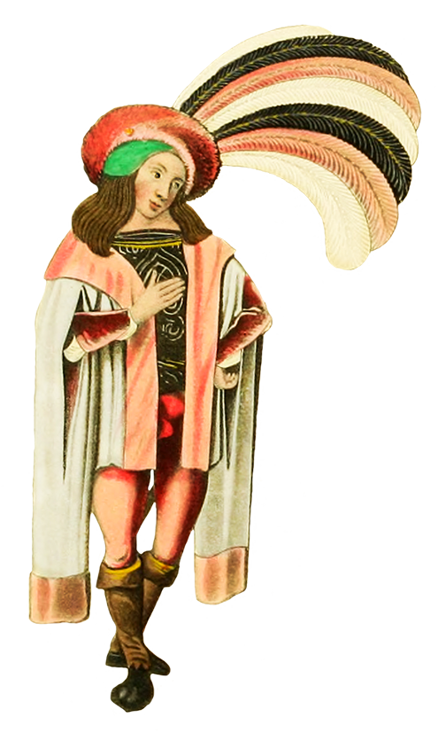 Medieval clipart clothes.