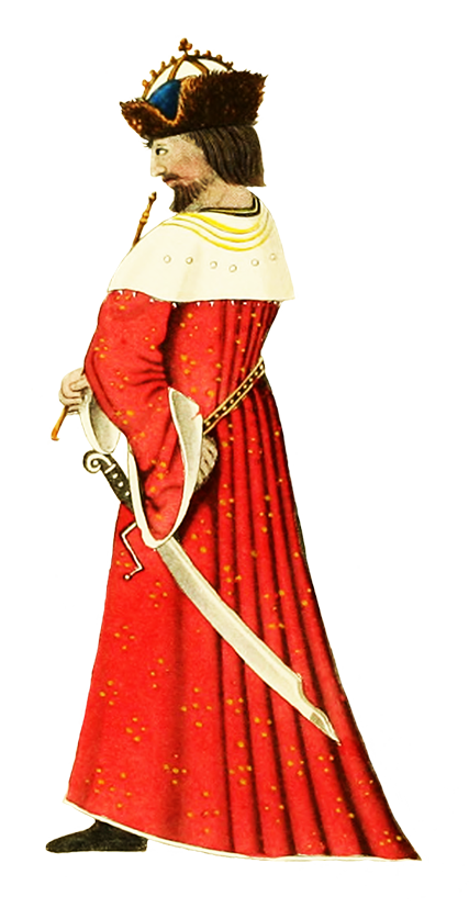 . Queen clipart medieval clothing