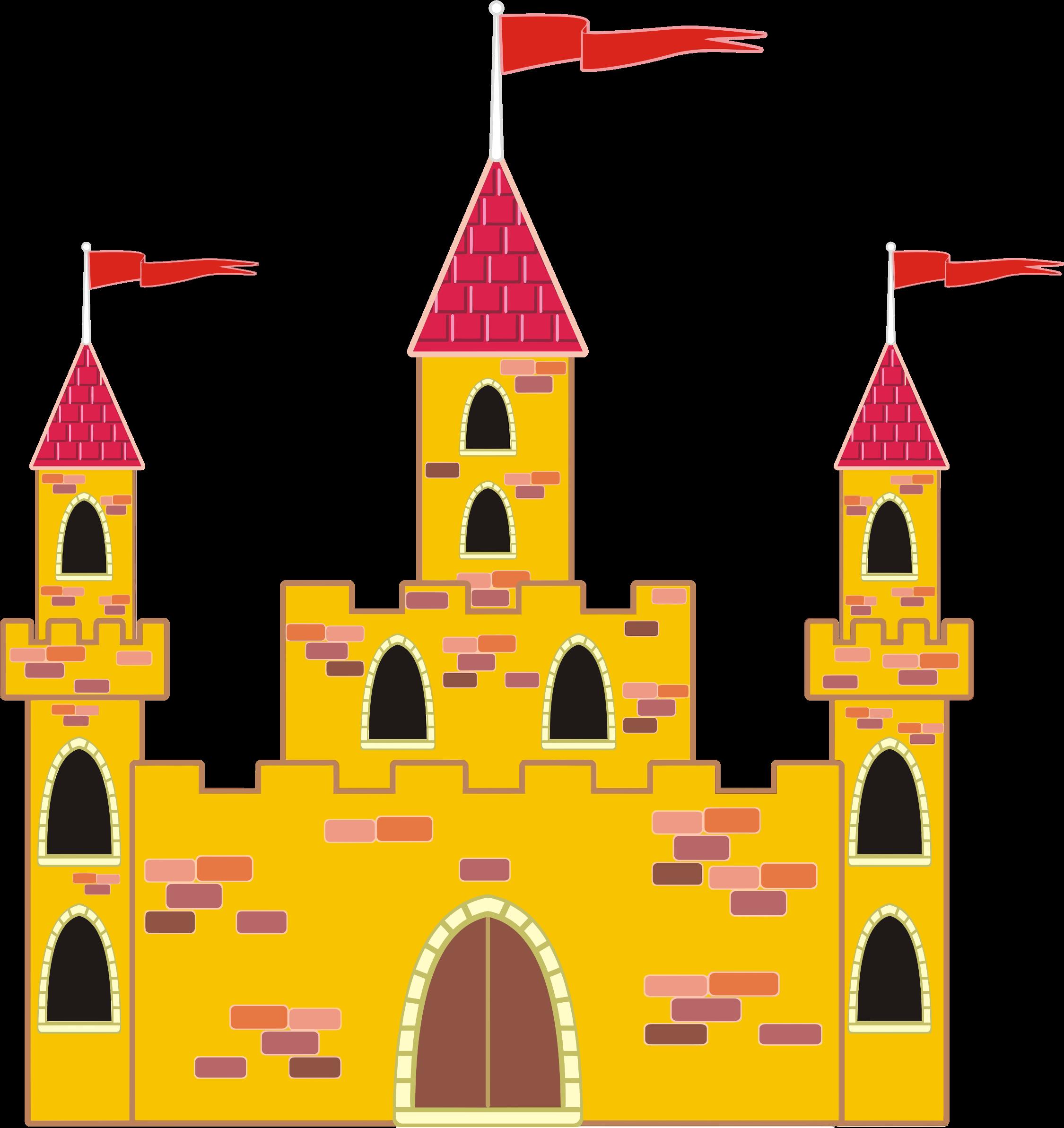 Palace clipart amazing. Colorful medieval castle big