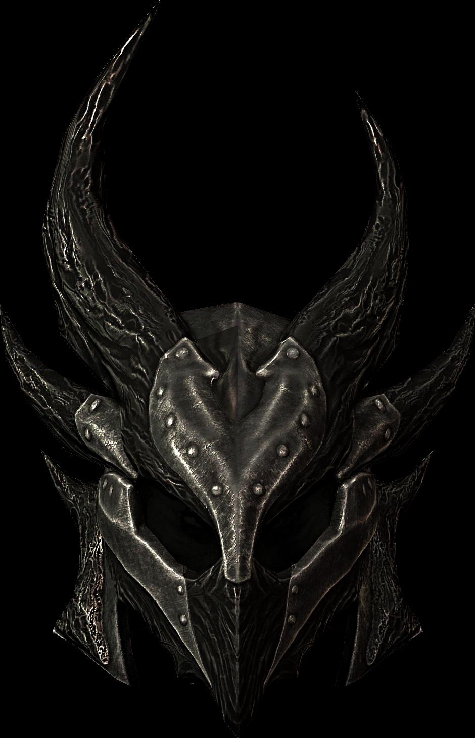 Daedric google search armor. Warrior clipart warrior helmet