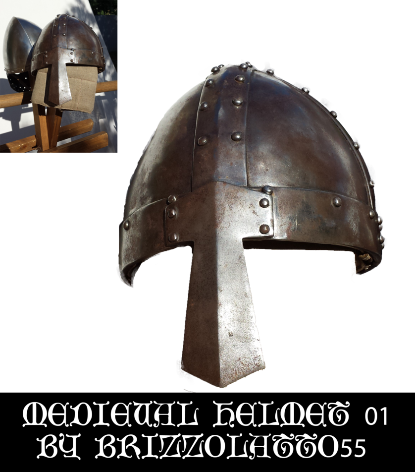 By brizzolatto on deviantart. Medieval helmet png