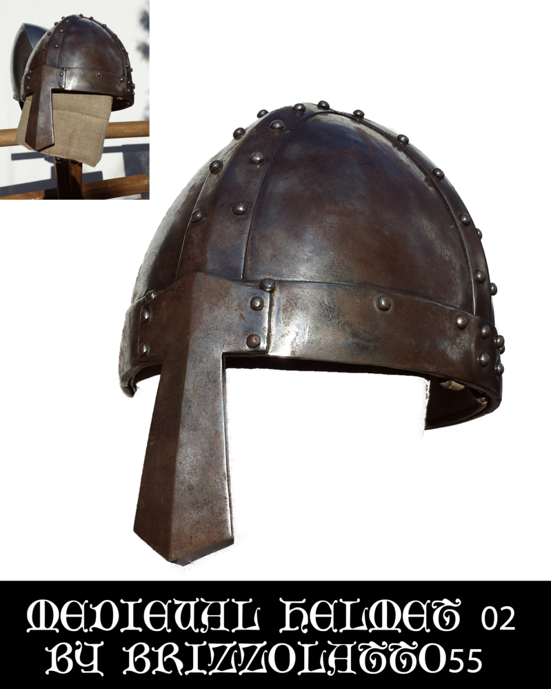 Medieval helmet png. By brizzolatto on deviantart