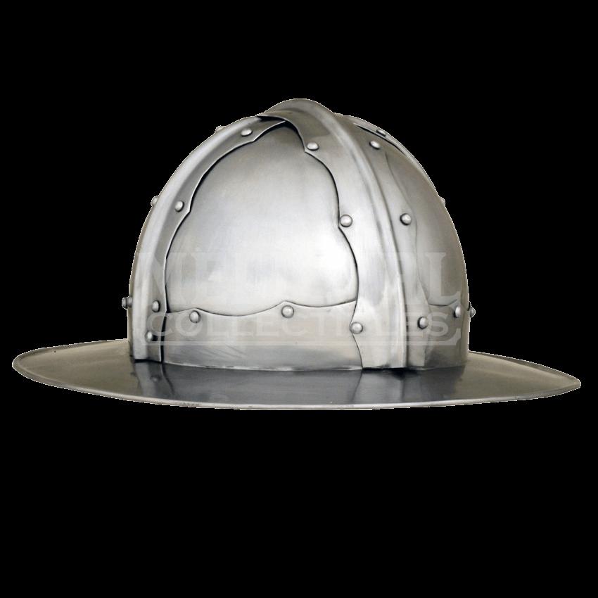 Reinforced kettle helm ah. Medieval helmet png