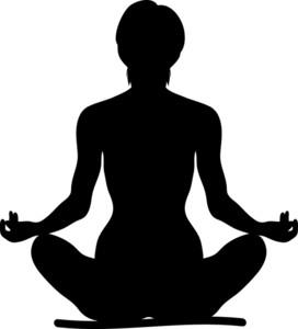 . Meditation clipart