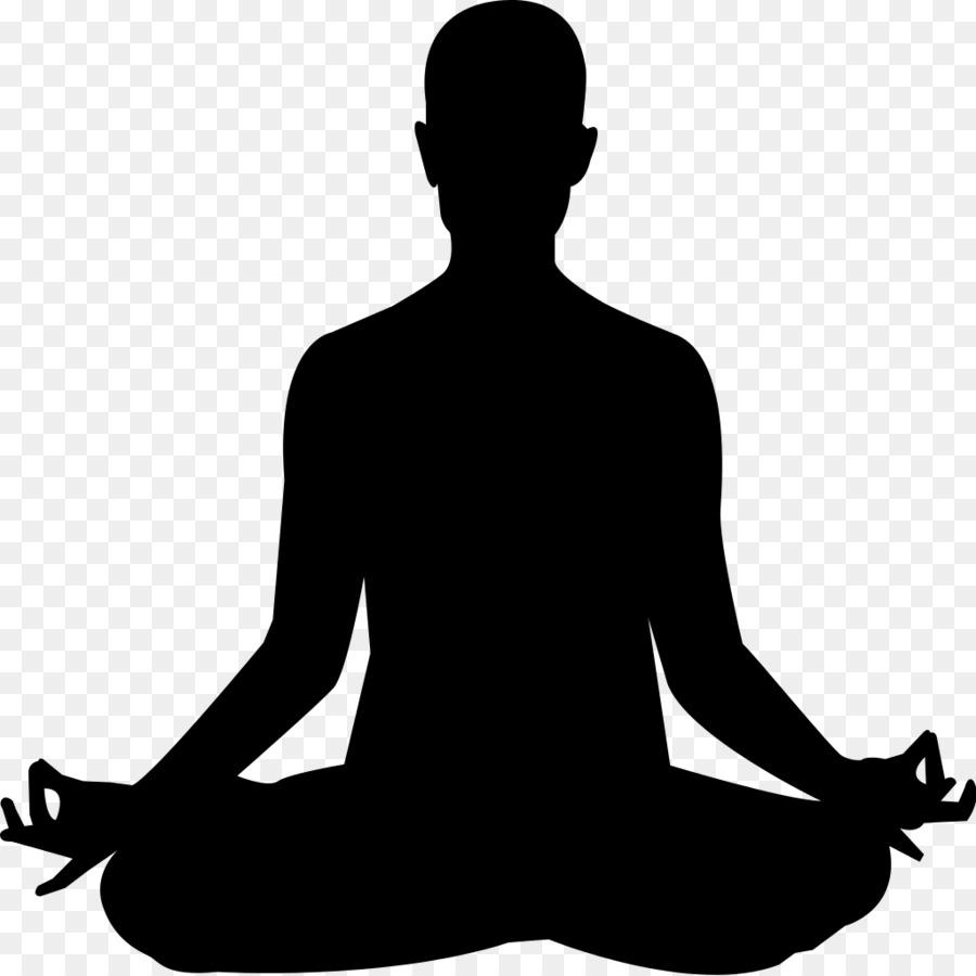 Christian feeling yoga clip. Meditation clipart