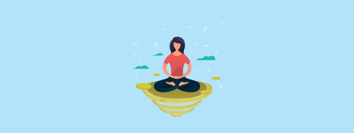 Free download clip art. Meditation clipart calm student