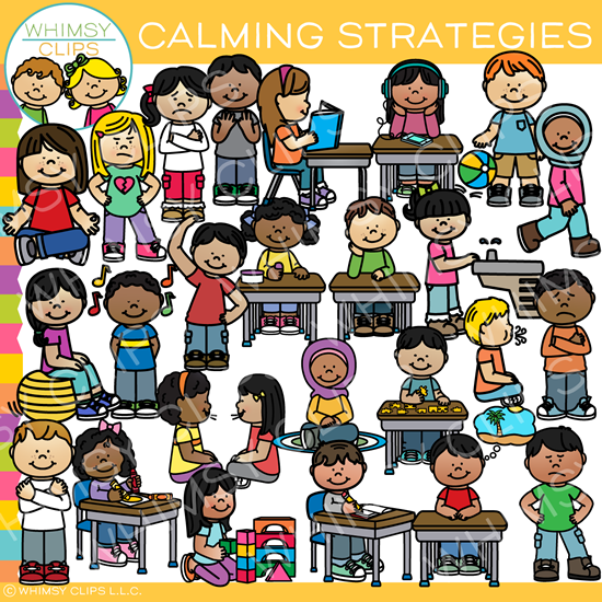Strategies clip art . Meditation clipart calming strategy