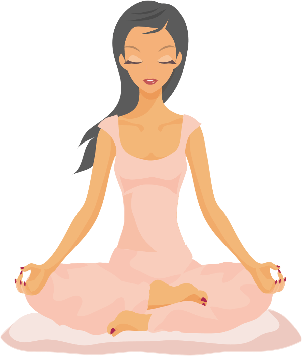 V s corporate happiness. Meditation clipart emotional health