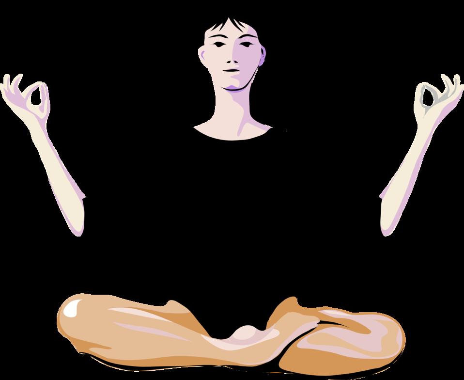 Meditation female yoga