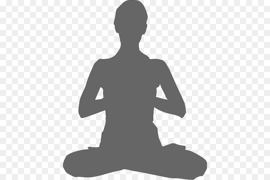 Meditation clipart meditation hand. Yoga cartoon transparent