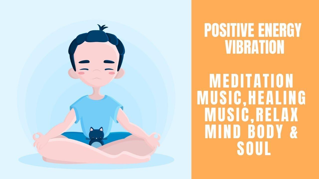 Meditation clipart positive body image.  energy vibration music