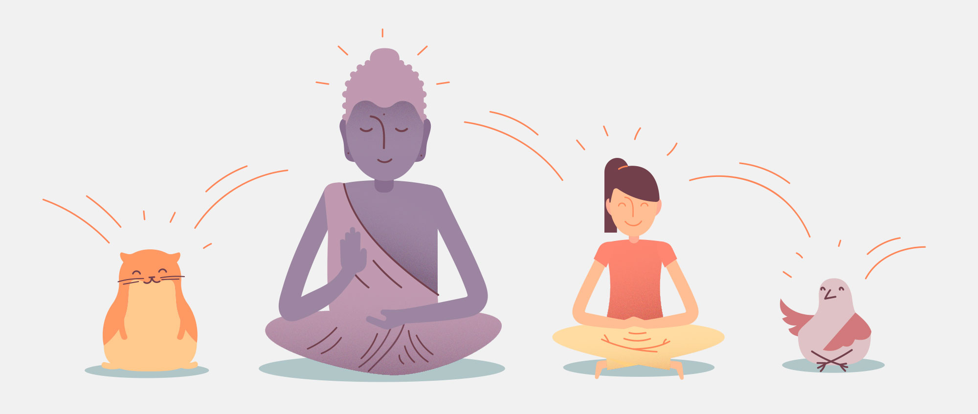 benefits of for. Meditation clipart positive body image