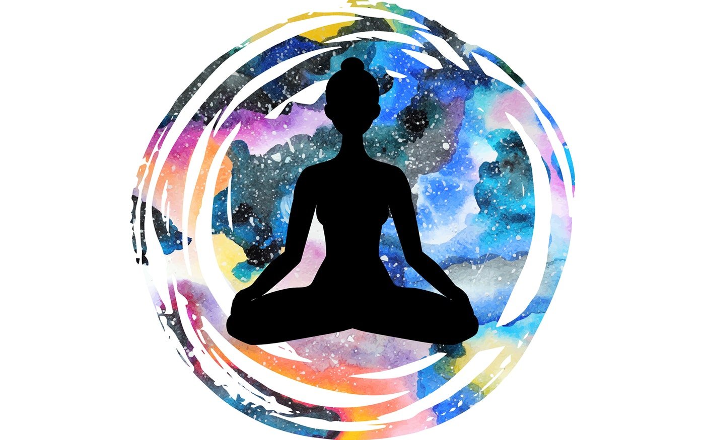 Meditation clipart self control. Mixing and magic mushrooms