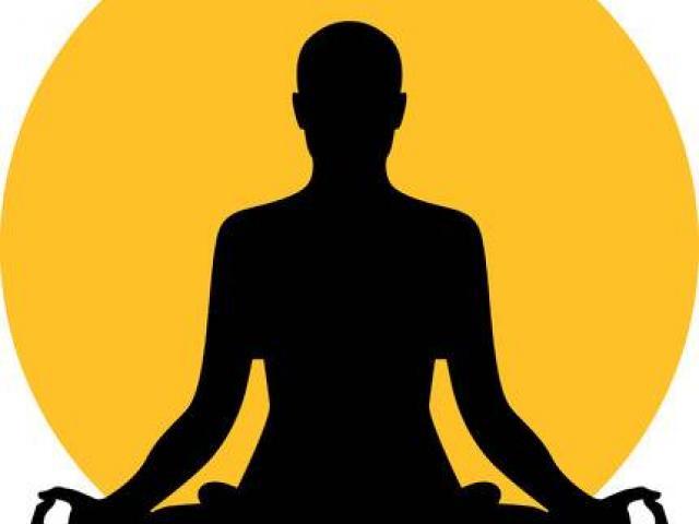 Free download clip art. Meditation clipart spiritual health