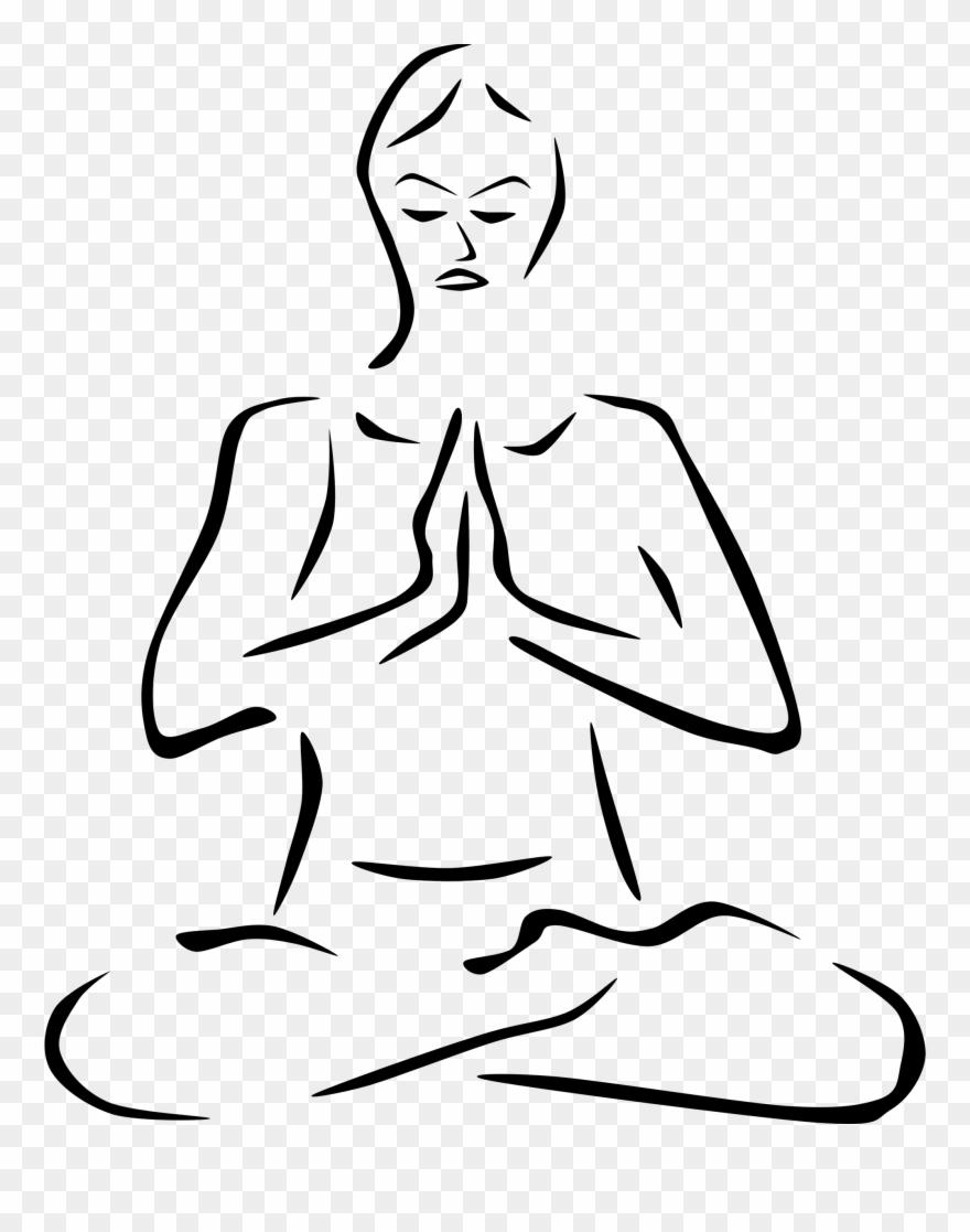 Meditation clipart spiritual health. Png download