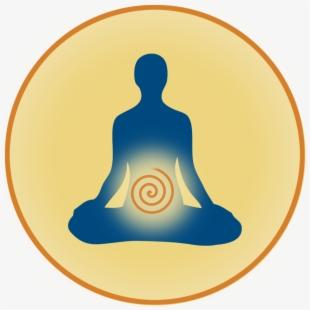 Meditation clipart spiritual wellness. Circle