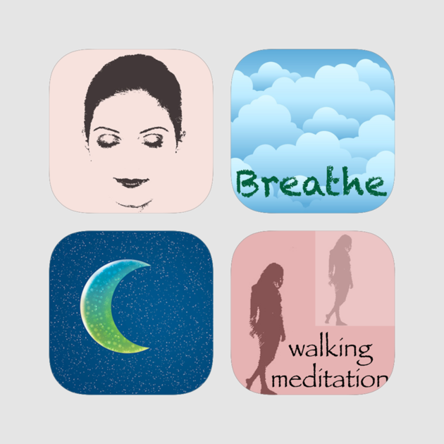Meditation clipart stress relief. Oasis on the app