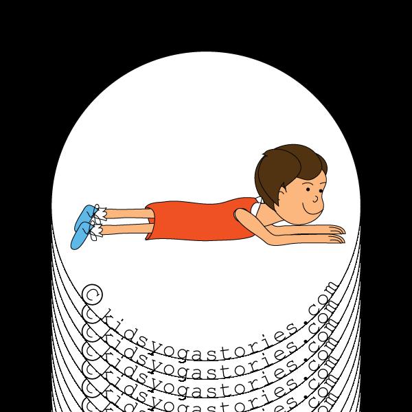 Meditation toddler yoga