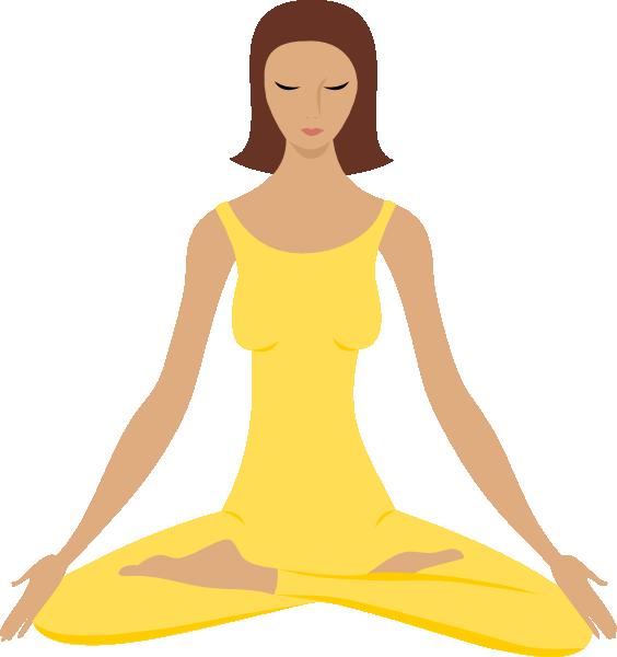 Yoga clip art at. Meditation clipart yaga