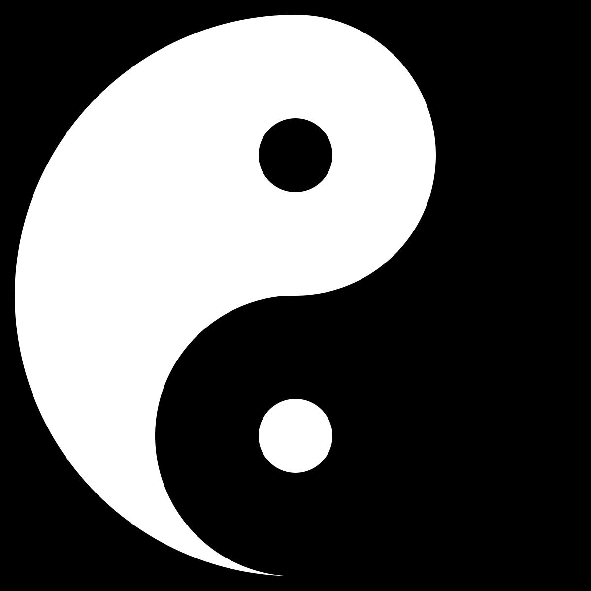 Meditation ying yang
