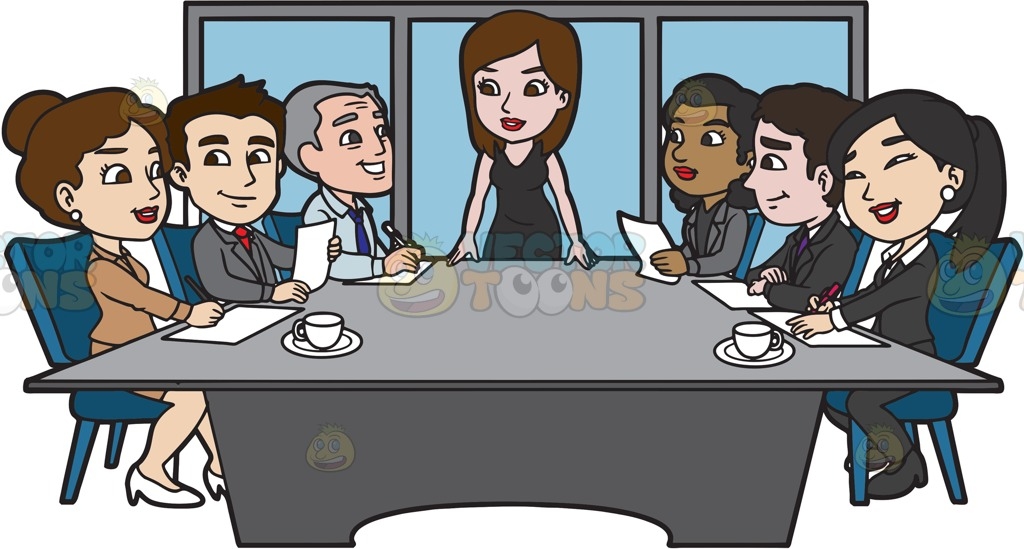 Jokingart com. Meeting clipart