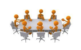 Panda free . Meeting clipart committee