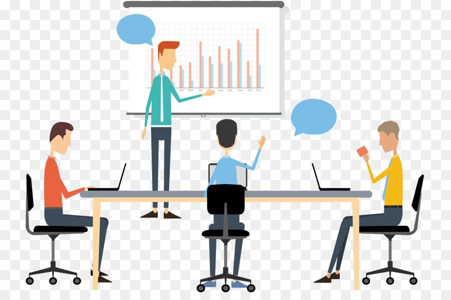 Business teamwork . Meeting clipart desk