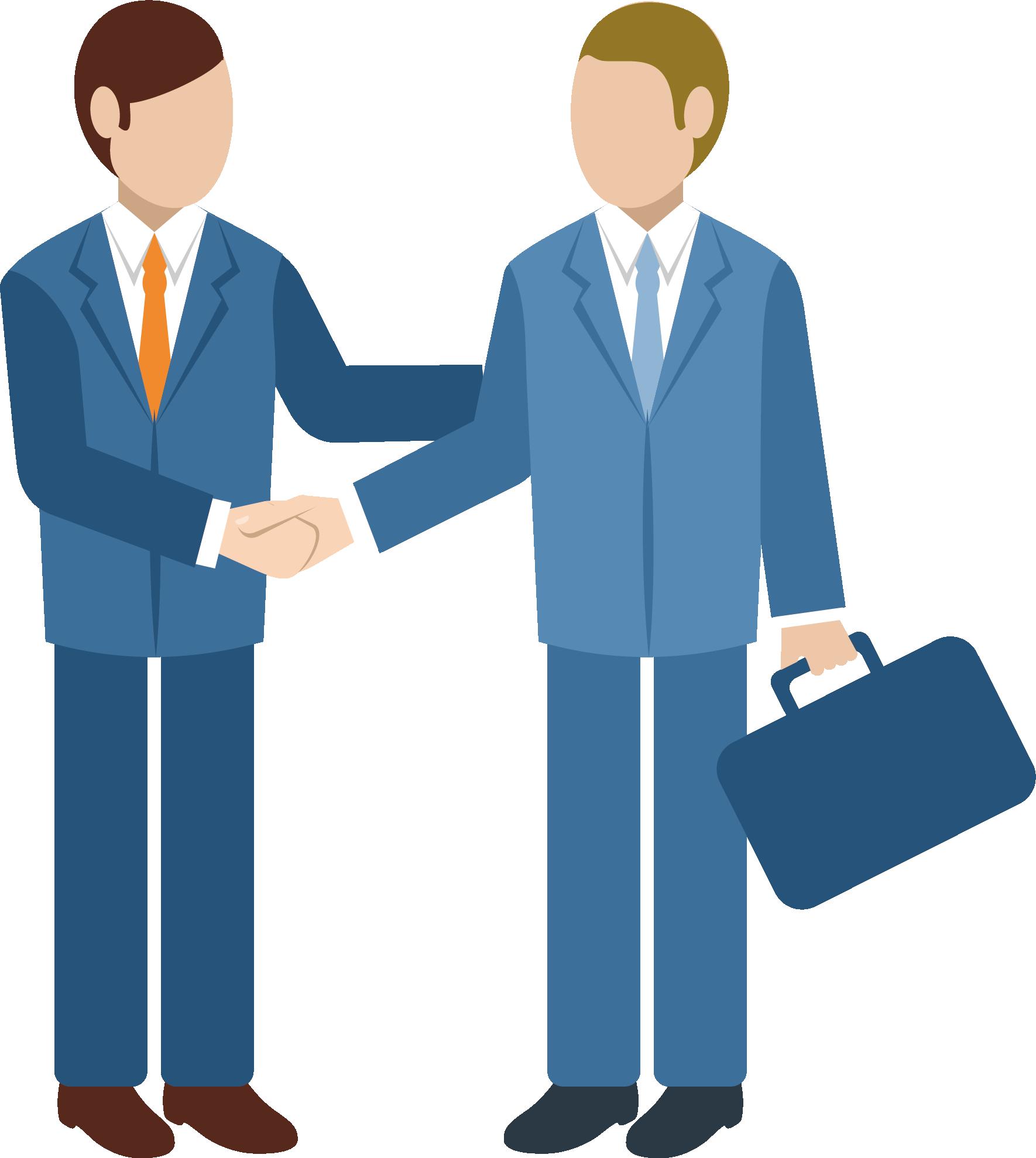 Professional clipart business relationship. Customer management recruitment meeting