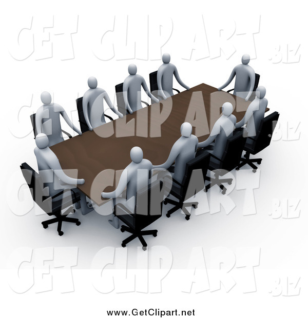 Meeting clipart professional meeting. Clip art of a