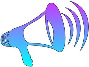 Free cliparts download clip. Megaphone clipart