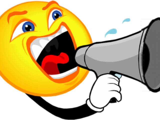 Noise yelling png download. Megaphone clipart emoji