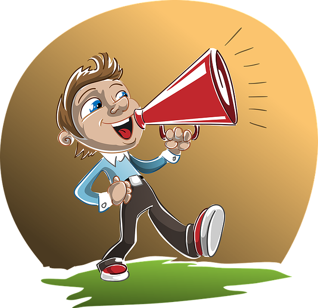The voices in your. Speakers clipart loud voice