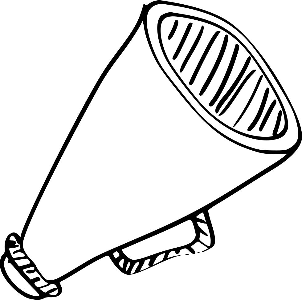 Drawing at getdrawings com. Movies clipart megaphone