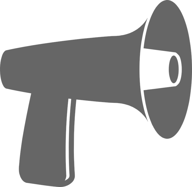 Movies clipart megaphone. Png images free download