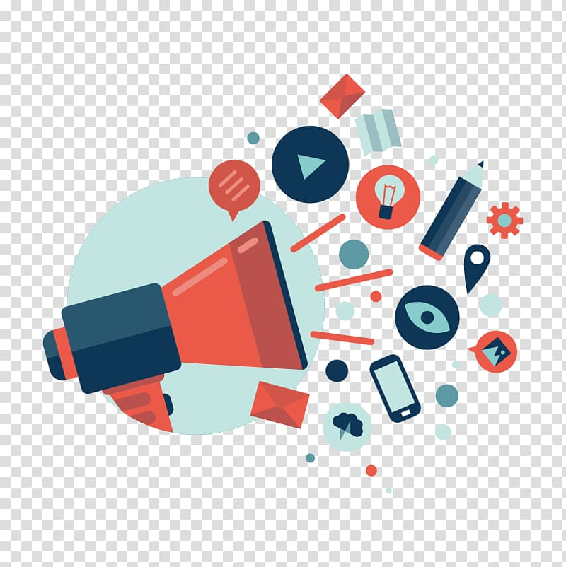 Megaphone clipart public relation. Relations marketing media management