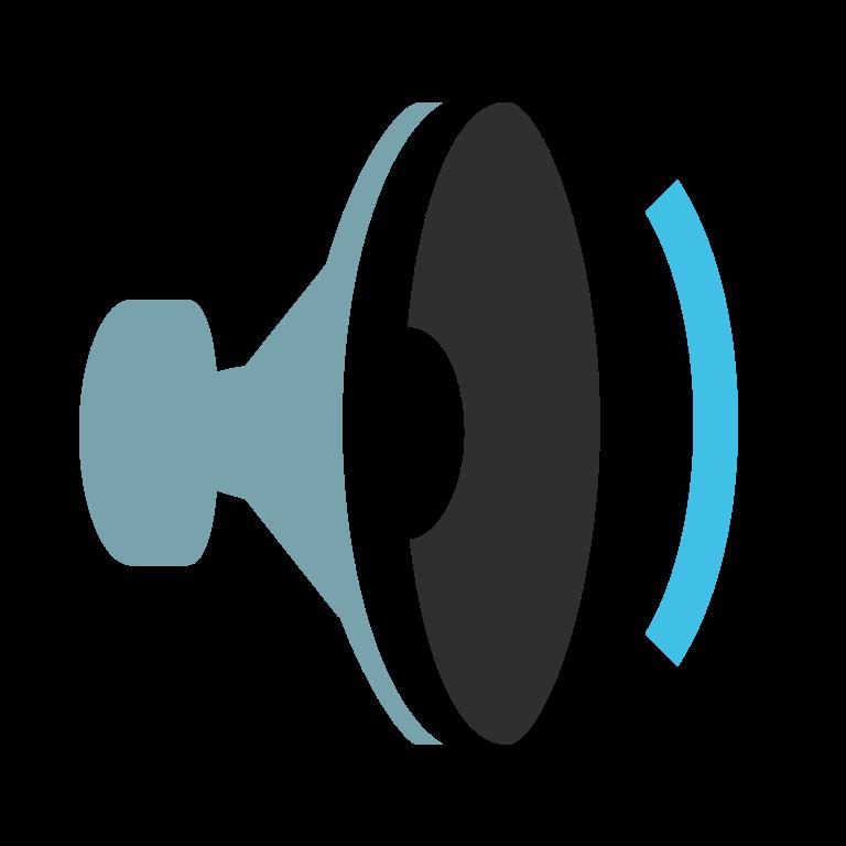 File emoji u f. Megaphone clipart sound wave