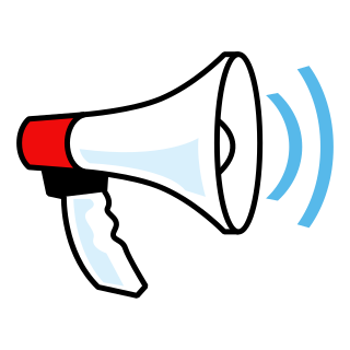 Megaphone clipart sound wave. Png images free download