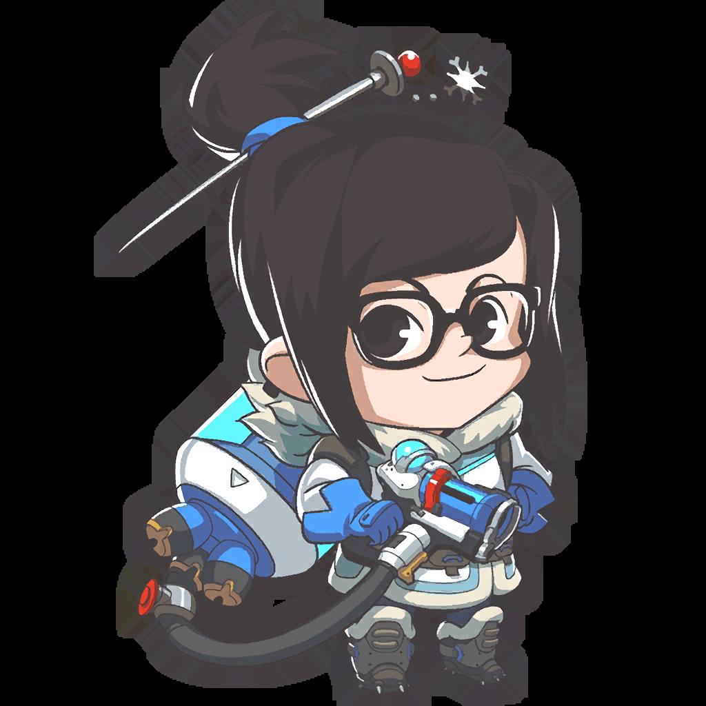 Mei overwatch png. Image cute wiki fandom