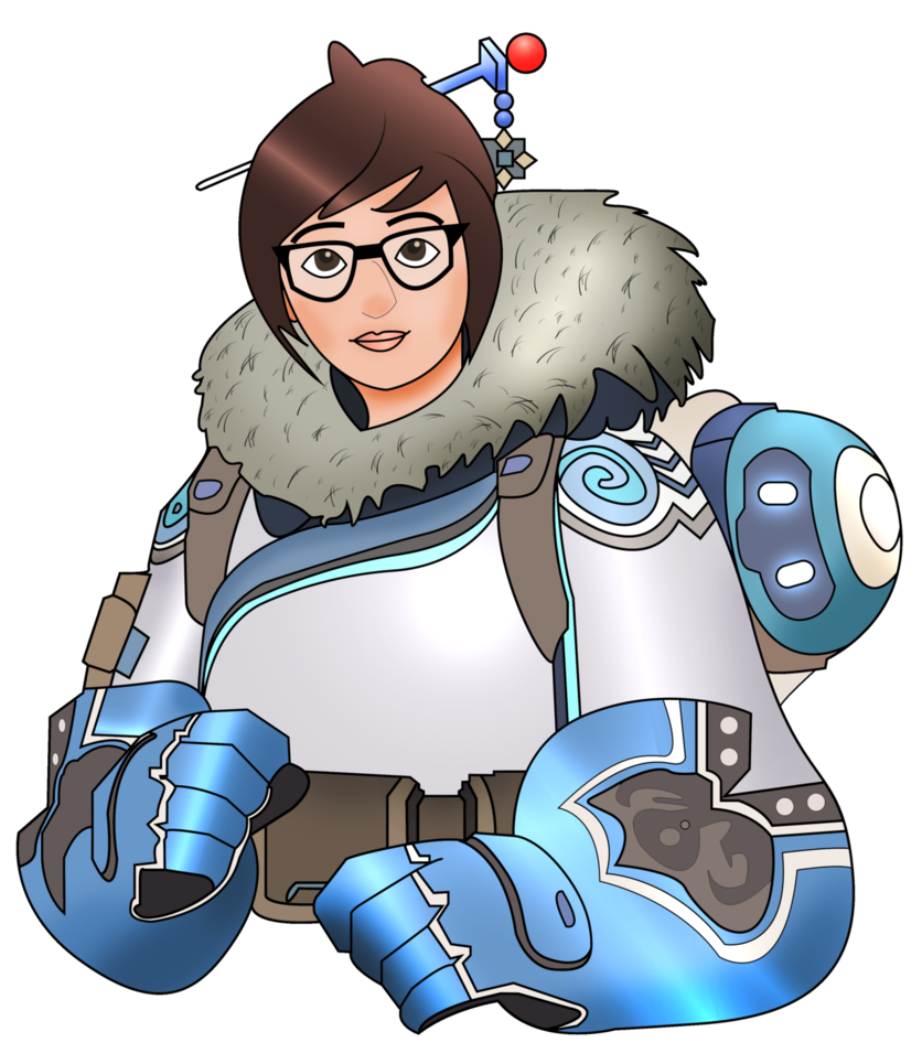 Mei overwatch png. By mercenaries on deviantart