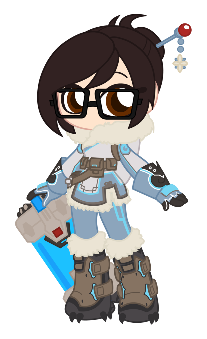 By reikosketch on deviantart. Mei overwatch png