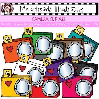 Clip art single image. Melonheadz clipart camera