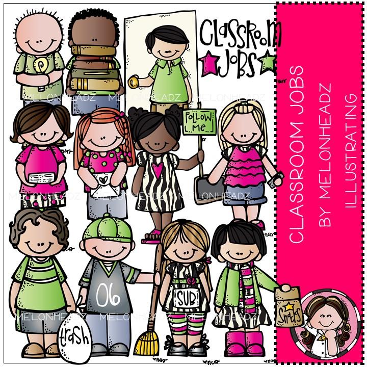 Melonheadz clipart class. Dana s classroom jobs