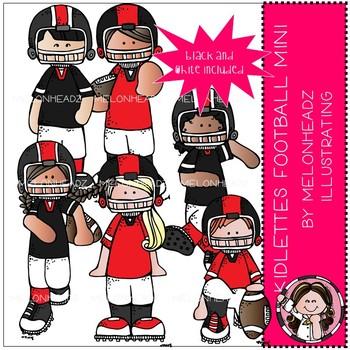 Kidlettes clip art mini. Melonheadz clipart football