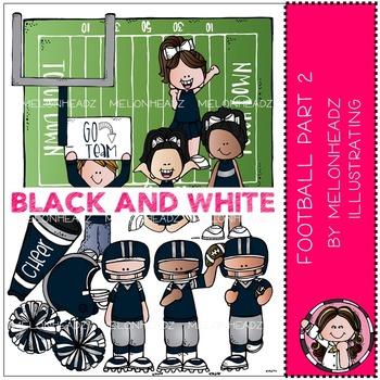Melonheadz clipart football. Clip art set black