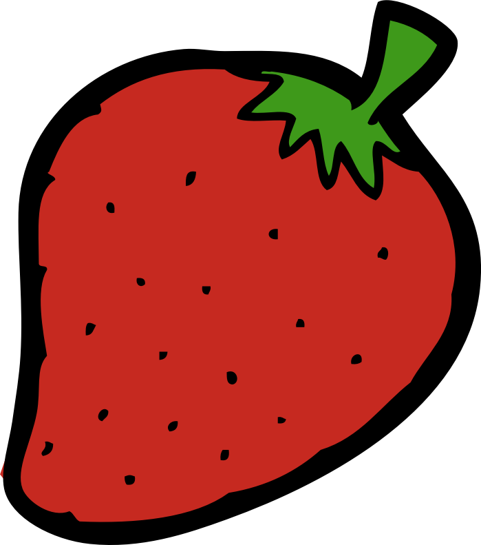 Strawberry medium image png. Strawberries clipart round fruit