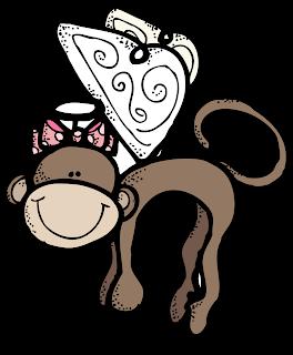 Freebies melonheads clip art. Melonheadz clipart monkey