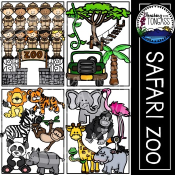 Animal black and white. Melonheadz clipart zoo